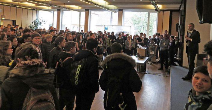 Eröffnung der Schulmesse durch Oberbürgermeister Maly © MEW/Rehm