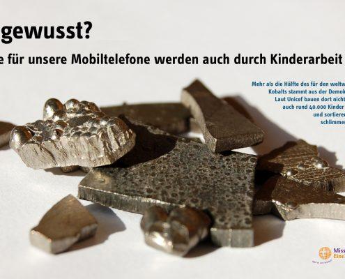 Kinderarbeit Handyaktion Bayern