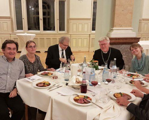 Gemeinsames Abendessen in Rothenburg