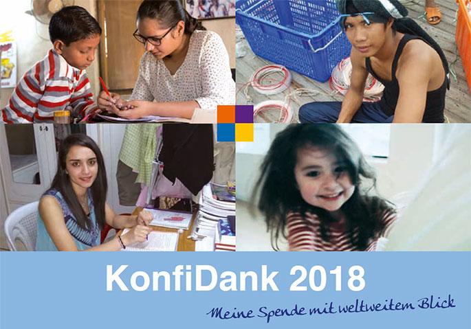 KonfiDank 2018 Broschüre