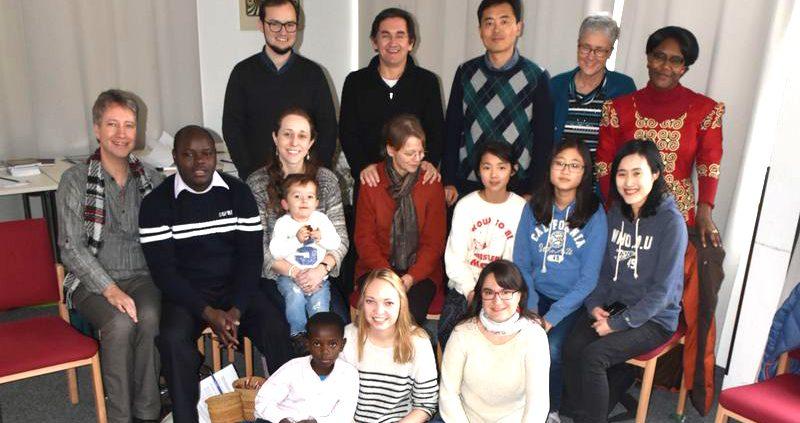 Ökumenische Mitarbeitende vor ihrer Rückkehr