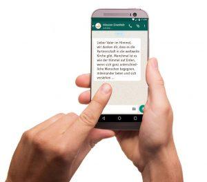 Die Fürbitte jetzt auch auf Ihr Smartphone!