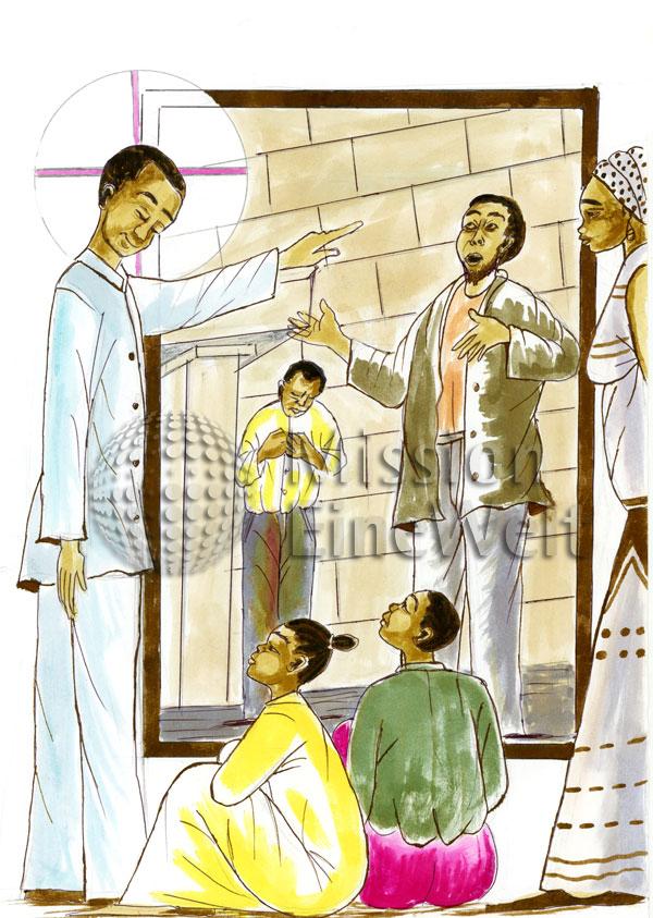 Das Gleichnis vom Pharisäer und dem Zöllner (Lukas 18, 9 – 14)