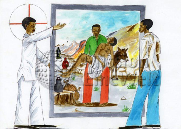 Das Gleichnis vom barmherzigen Samariter (Lukas 10; 25 – 37)
