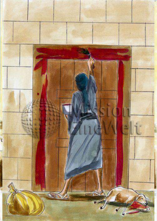 Die zehn Plagen (Exodus 7 – 11,10) Die zehnte Plage: Tod aller Erstgeborenen