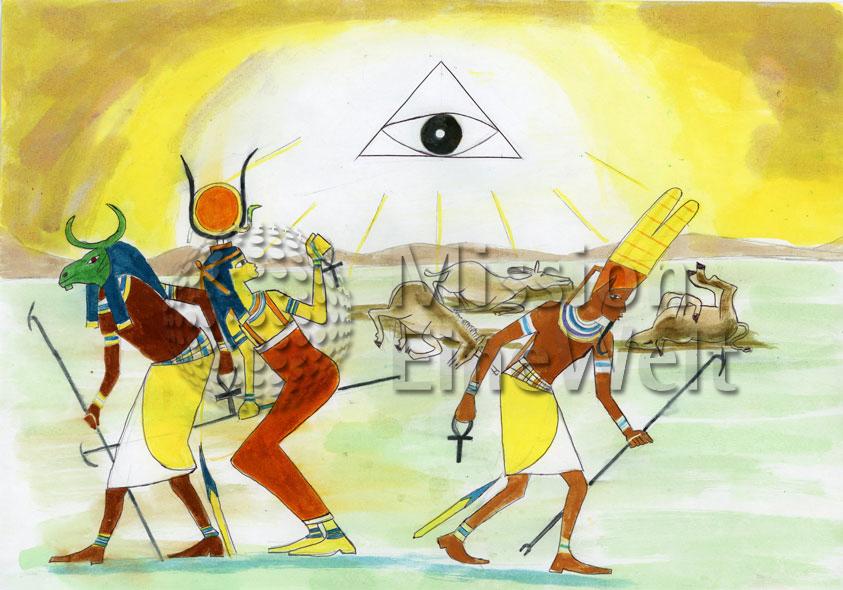 Die zehn Plagen (Exodus 7 – 11,10) Die fünfte Plage: Viehpest