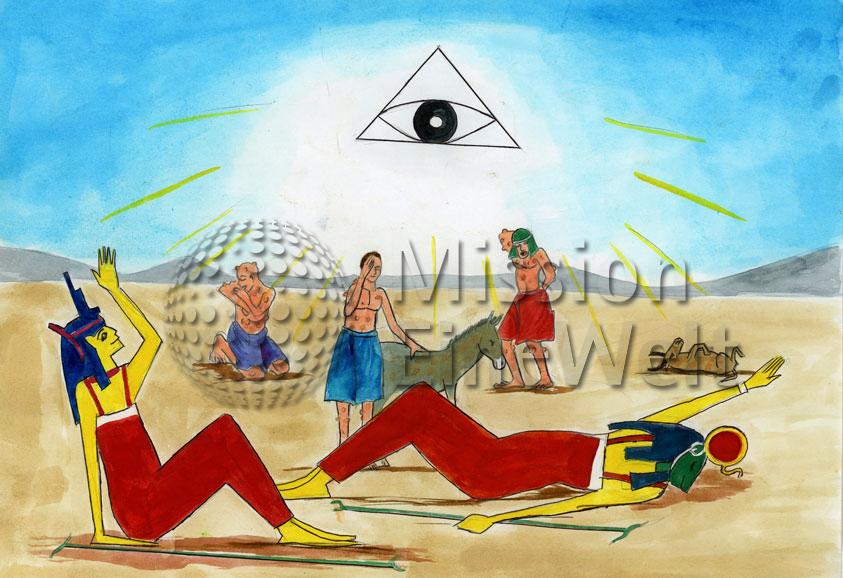 Die zehn Plagen (Exodus 7 – 11,10) Die sechste Plage: Schwarze Blattern