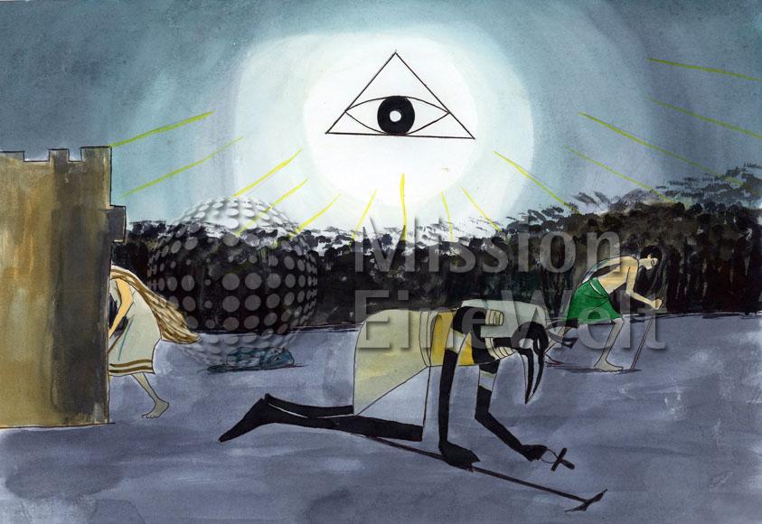 Die zehn Plagen (Exodus 7 – 11,10) Die neunte Plage: Finsternis