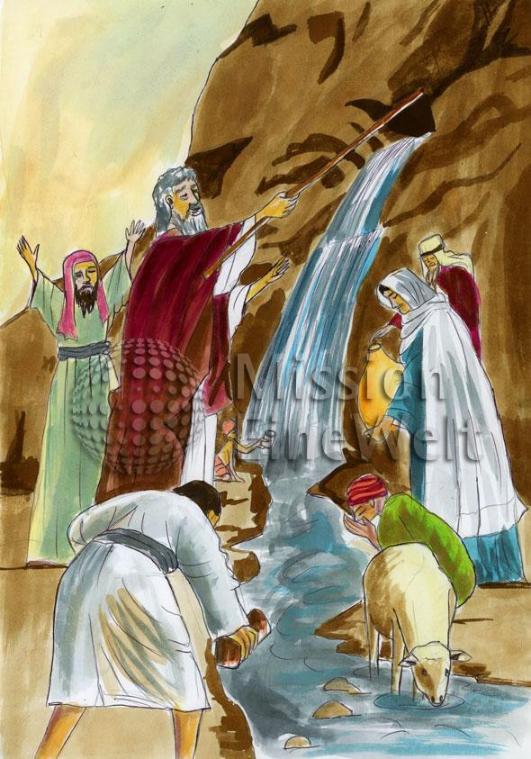 Die bitteren Wasser (Exodus 15, 22 – 26)