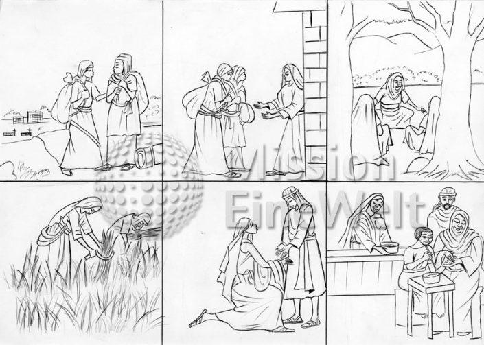 Die Geschichte von Ruth (Ruth 3 und 4)