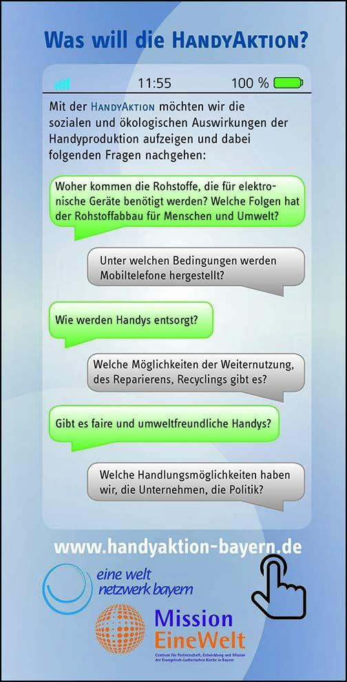 Info-Flyer Handyaktion