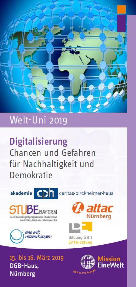Welt-Uni 2019 - Digitalisierung