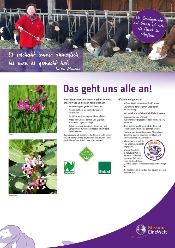 Soja-Ausstellung Plakat 5