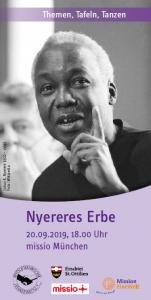 Veranstaltungsflyer Nyereres