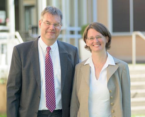 Die Mission-EineWelt-Direktor/innen Gabriele und Hanns Hoerschelmann